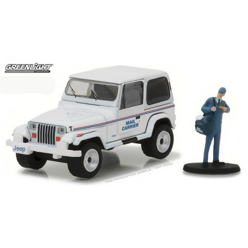 The Hobby Shop Series 1 - 1991 Jeep Wrangler YJ Mail Carrier