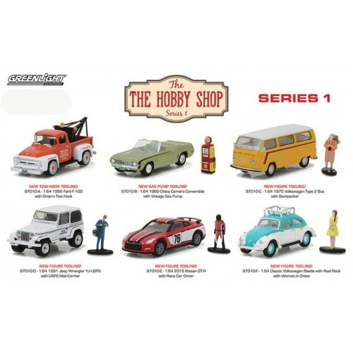 The Hobby Shop Series 1 - SET