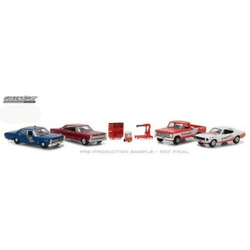 Greenlight Multi-Car Dioramas - Ford Motorcraft Garage
