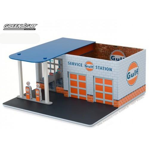 Mechanic's Corner Series 1 - Vintage Gas Station Gulf Oil
