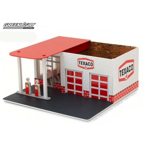 Mechanic's Corner Series 1 - Vintage Gas Station Texaco Oil