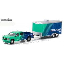 Hitch and Tow Series 11 - 2015 Chevy Silverado Falken Tire and Race Trailer
