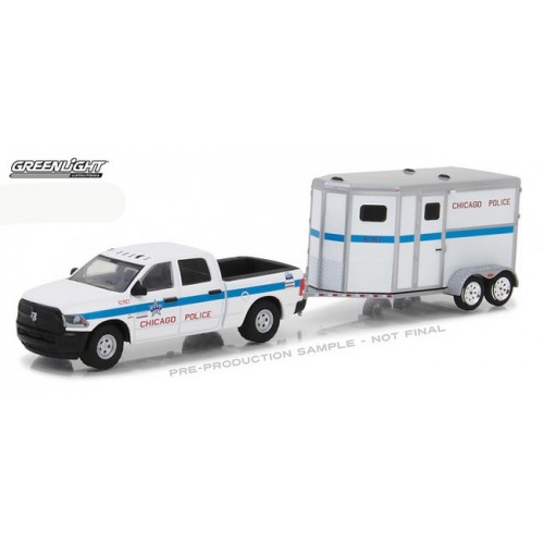 Hitch and Tow Series 11 - 2017 RAM 2500 and Horse Trailer Chicago Police