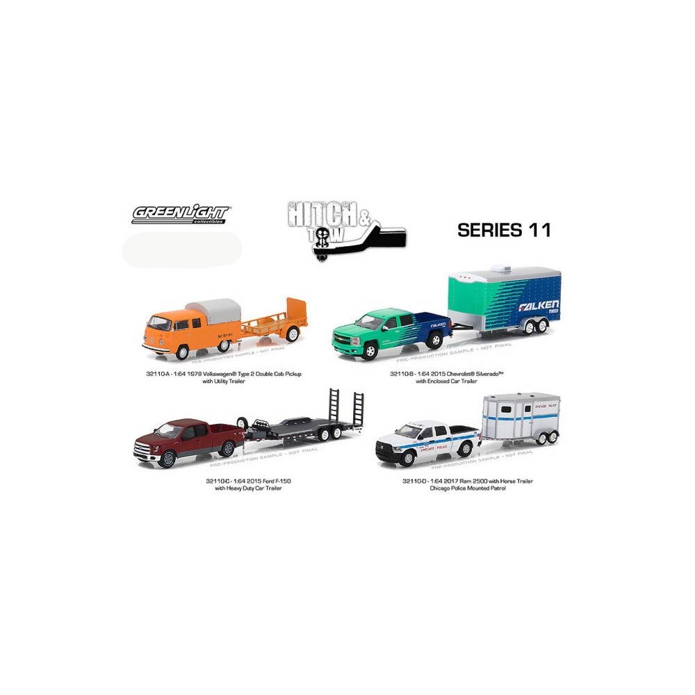 Hitch and Tow Series 11 - SET