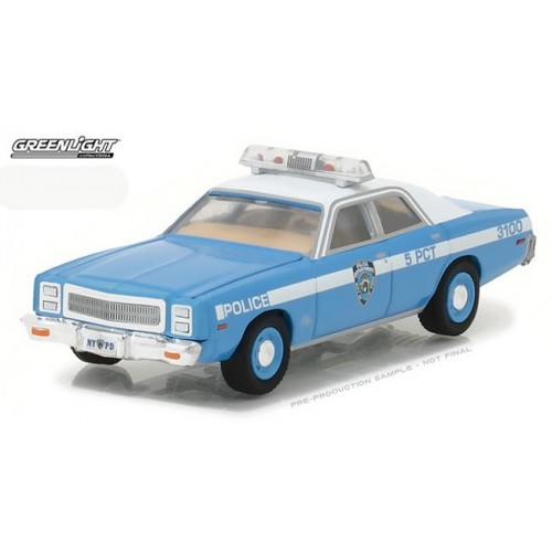 Hot Pursuit Series 24 - 1977 Plymouth Fury NYPD