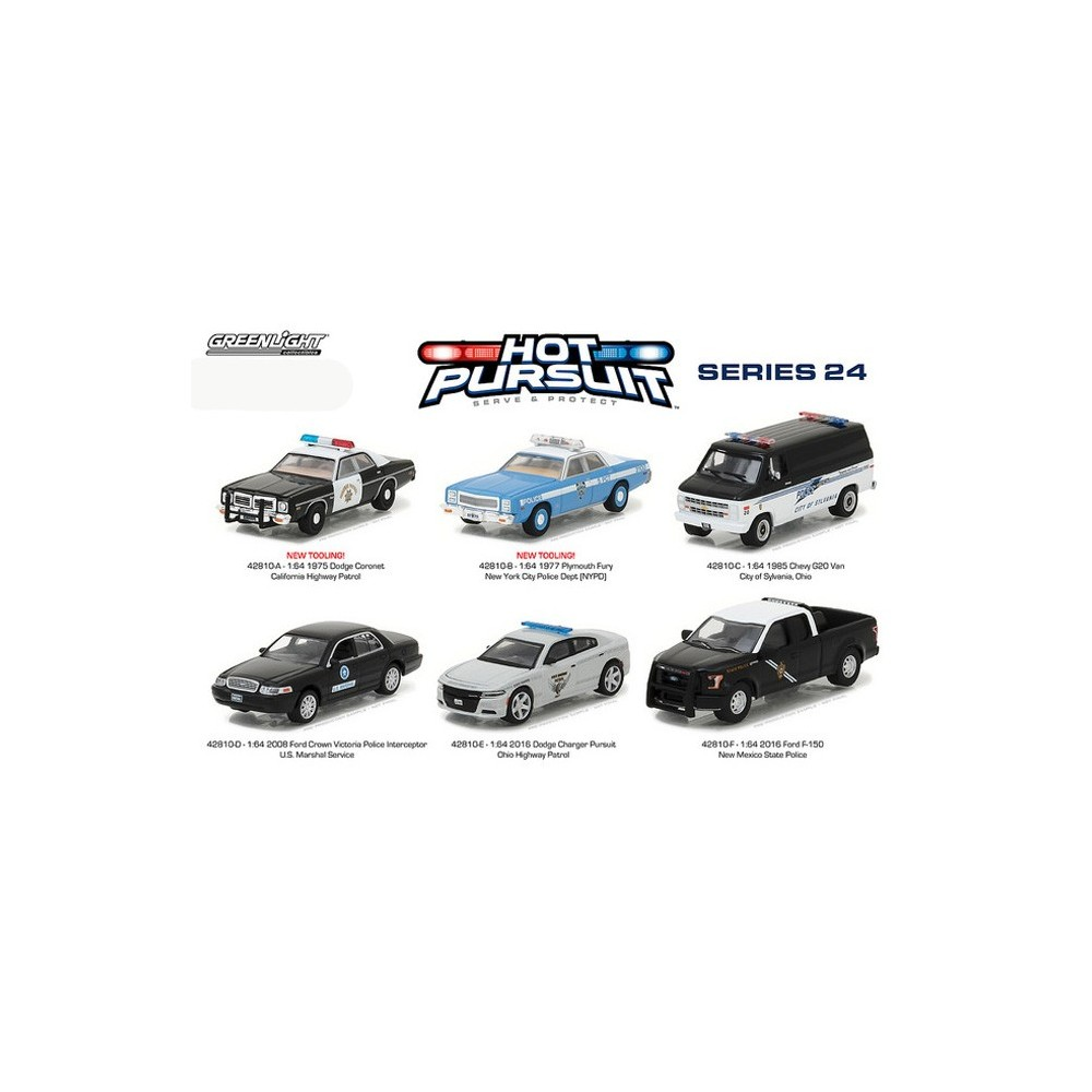 Hot Pursuit Series 24 - SET