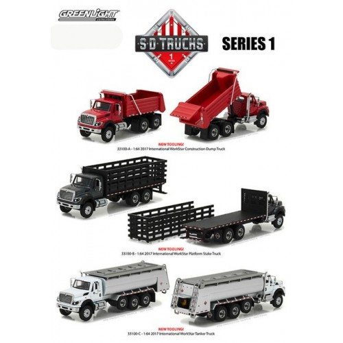 Super Duty Trucks Series 1 - SET
