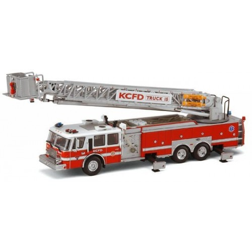 Code 3 Collectibles E-One Platform Ladder Truck 15 - Kansas City