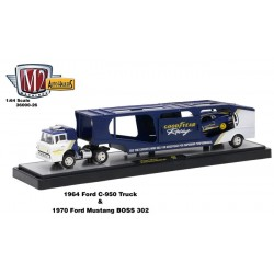 Auto-Haulers Release 26 - 1964 Ford C-950 and 1970 Ford Mustang BOSS 302