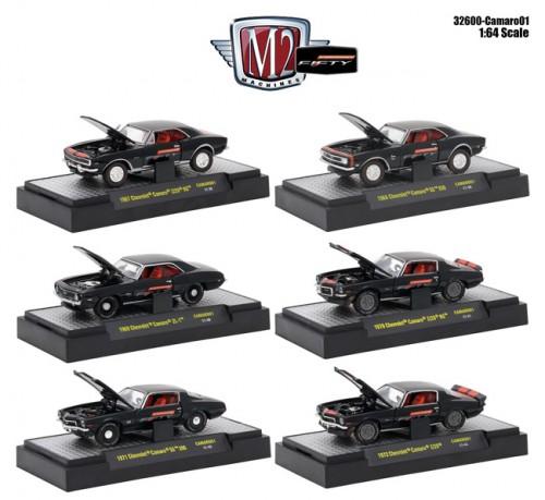 Detroit Muscle Camaro Release 1 - SET