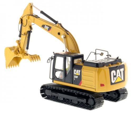 Diecast Masters Caterpillar 323F L Hydraulic Excavator with Thumb