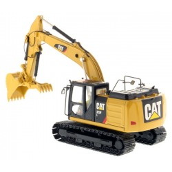 Diecast Masters Caterpillar 323F L Hydraulic Excavator with Thumb
