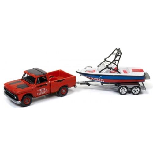 Johnny Lightning Gone Fishing Release 4A Set