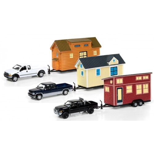 Johnny Lightning Tiny Houses Release 1A Set