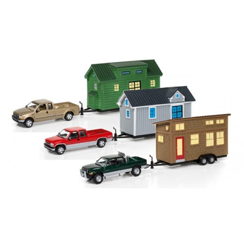 Johnny Lightning Tiny Houses Release 1B Set