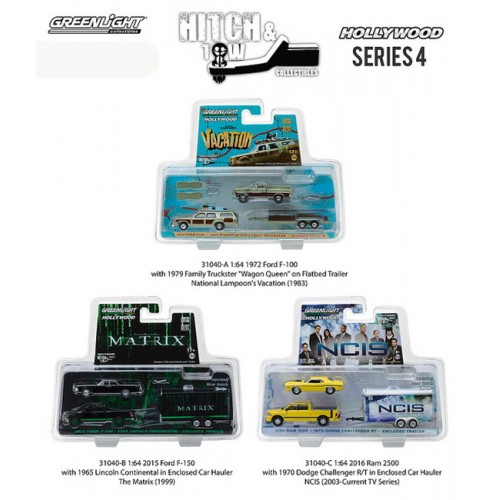 Hollywood Hitch and Tow Series 4 - SET