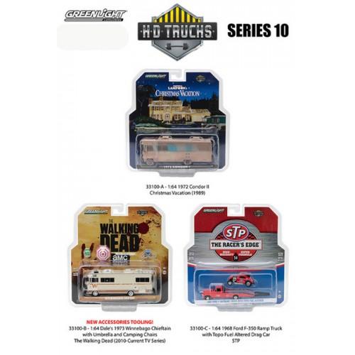 HD Trucks Series 10 - SET