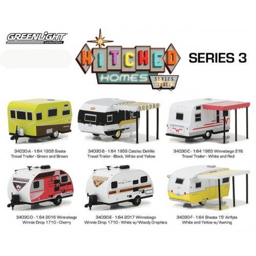 Hitched Homes Series 3 - Six Trailer Set