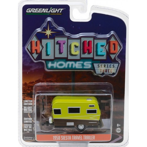 Hitched Homes Series 3 - 1958 Siesta Travel Trailer