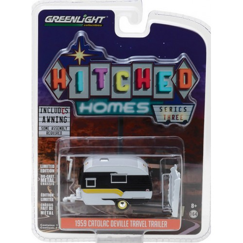 Hitched Homes Series 3 - 1959 Catolac DeVille Travel Trailer