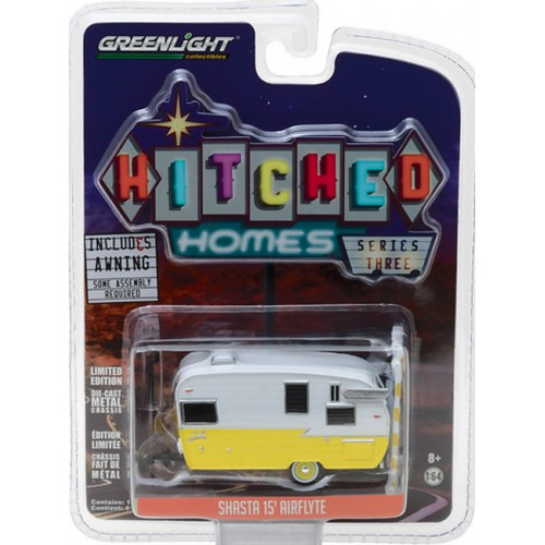 Hitched Homes Series 3 - Shasta 15' Airflyte