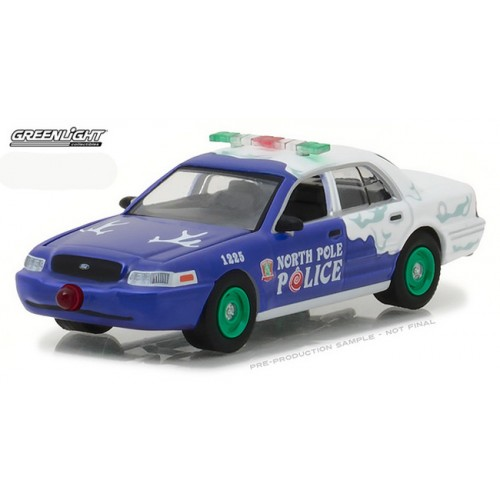 Holiday Ornaments 2017 Series 2 - 2001 Ford Crown Victoria Police Interceptor