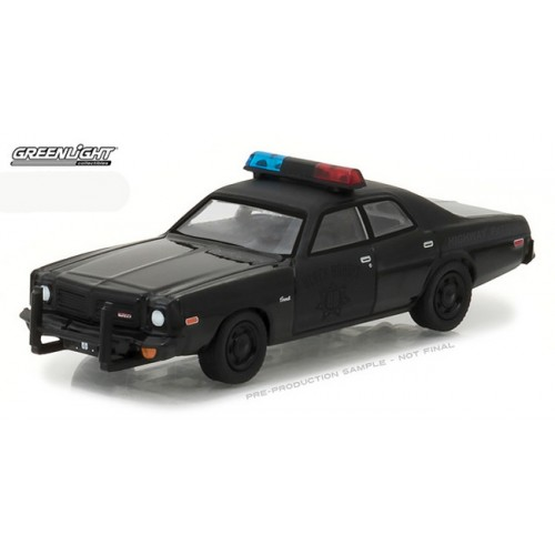 Black Bandit Series 18 - 1976 Dodge Coronet Police Car