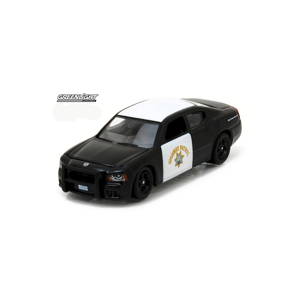 Greenlight Hot Pusuit Series 22 2008 Dodge Charger Chp Police Car