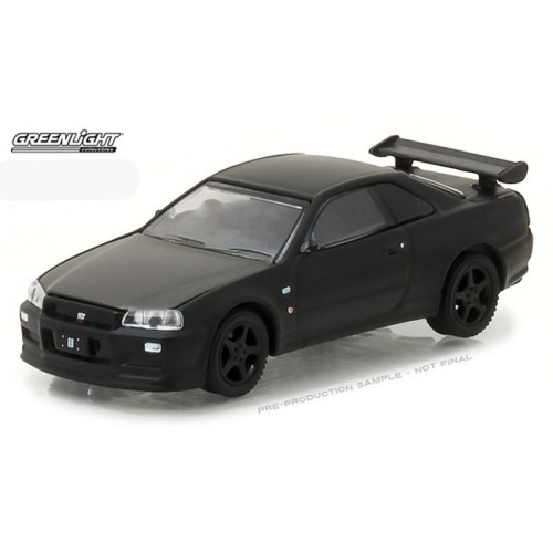 Black Bandit Series 18 - 2000 Nissan Skyline GT-R