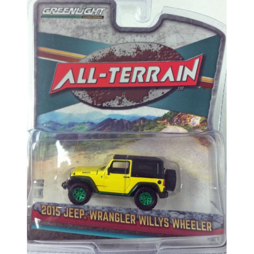 All-Terrain Series 5 - 2015 Jeep Wrangler Willys Wheeler GREEN MACHINE