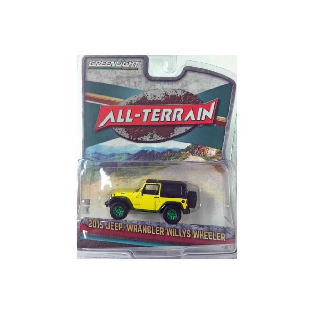 All-Terrain Series 5 - 2015 Jeep Wrangler Willys Wheeler GREEN MACHINE