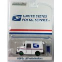 Hobby Exclusive - USPS LLV with Mailbox GREEN MACHINE