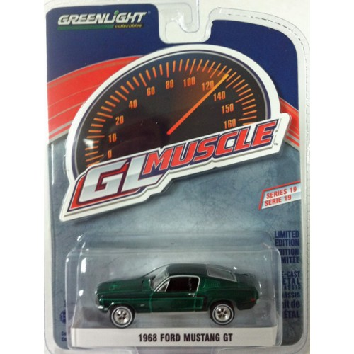 GL Muscle Series 19 - 1968 Ford Mustang GT GREEN MACHINE