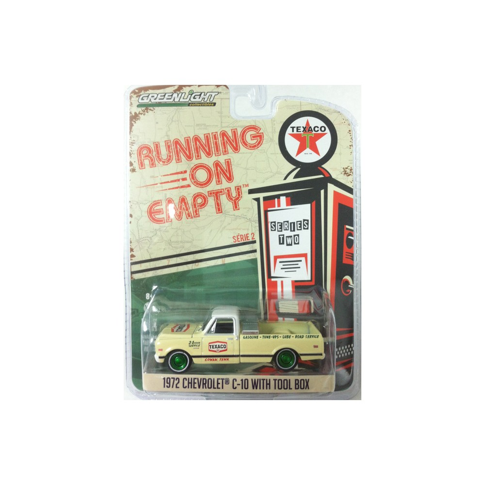 Running on Empty Series 2 - 1972 Chevy C-10 with Tool Box GREEN MACHINE