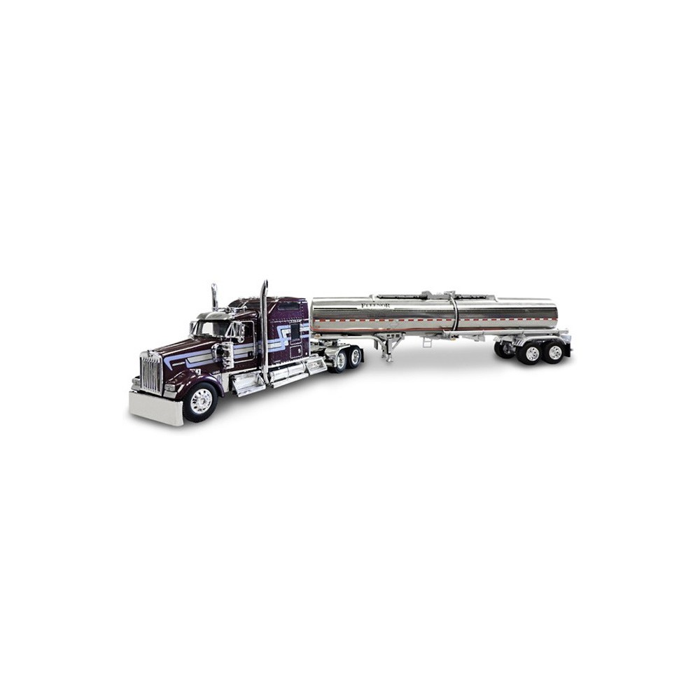 Die-Cast Promotions Kenworth ICON 900 and Brenner Chemical Tanker - Fleenor Brothers