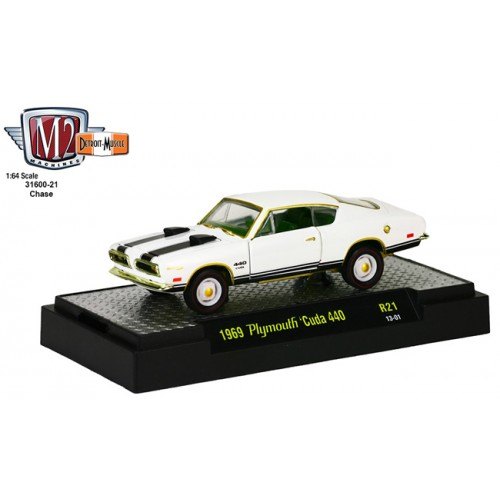 Detroit Muscle Release 21 - 1969 Plymouth Cuda 440 CHASE CAR