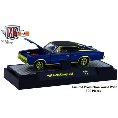 Detroit Muscle Release 34 - 1966 Dodge Charger 383 CHASE CAR