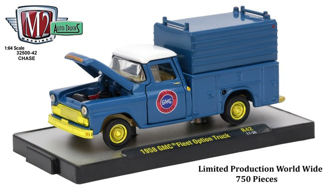 M2 Machines Auto Trucks Release 42 1958 Gmc Fleet Option Truck Chase