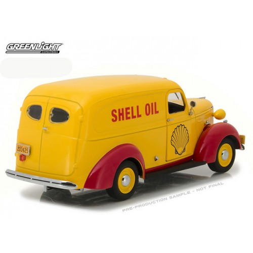 Running on Empty - 1939 Chevrolet Panel Truck Shell Oil