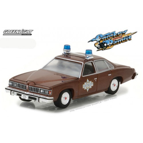 Hollywood Series 18 - 1977 Pontiac LeMans Smokey and the Bandit