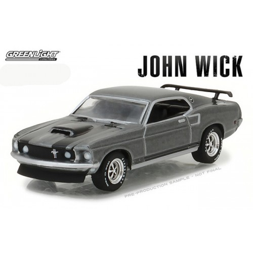 Hollywood Series 18 - 1969 Ford Mustang BOSS 429 John Wick