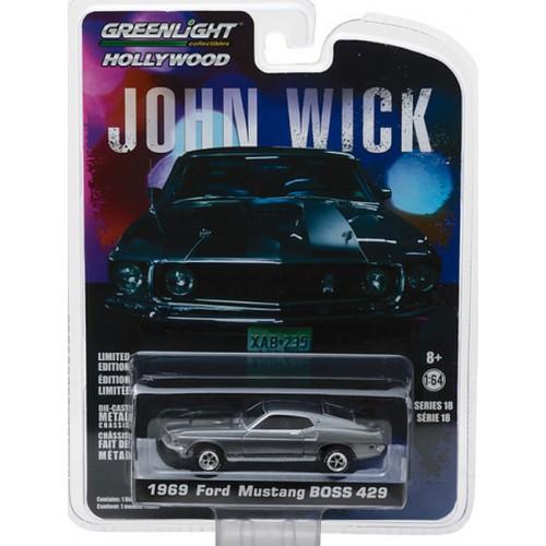 Hollywood Series 18 - 1969 Ford Mustang BOSS 429 John Wick