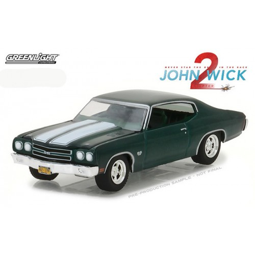 Hollywood Series 18 - 1970 Chevrolet Chevelle SS 396 John Wick