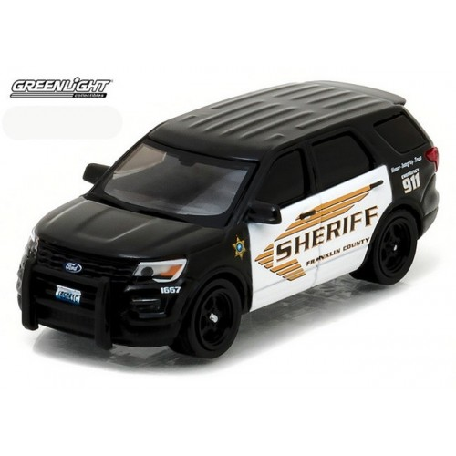 Hot Pursuit Series 22 - 2016 Ford Police Interceptor Utility Franklin County Sheriff
