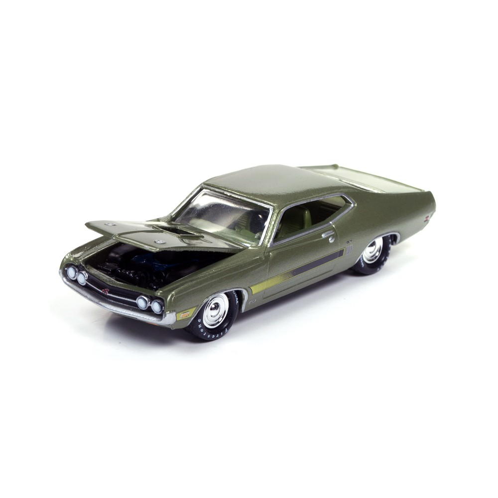 Johnny Lightning Muscle Cars USA Release 3A - 1970 Ford Torino GT