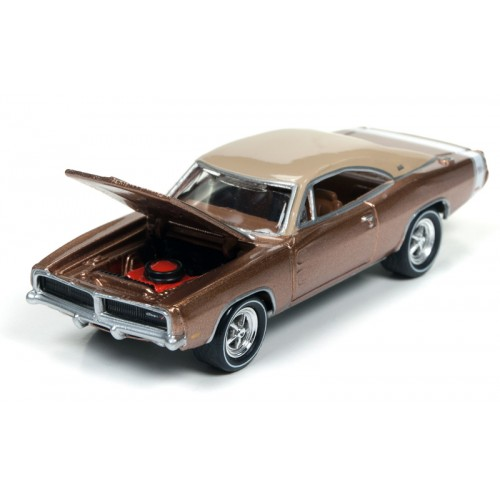 Johnny Lightning Muscle Cars U.S.A - 1969 Dodge Charger R/T