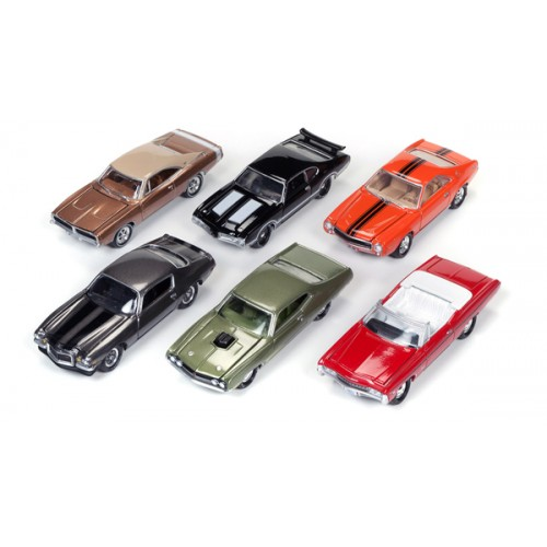 Johnny Lightning Muscle Cars U.S.A Release 3A - Six Car Set