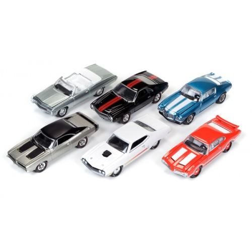 Johnny Lightning Muscle Cars U.S.A. Release 3C - Six Car Set