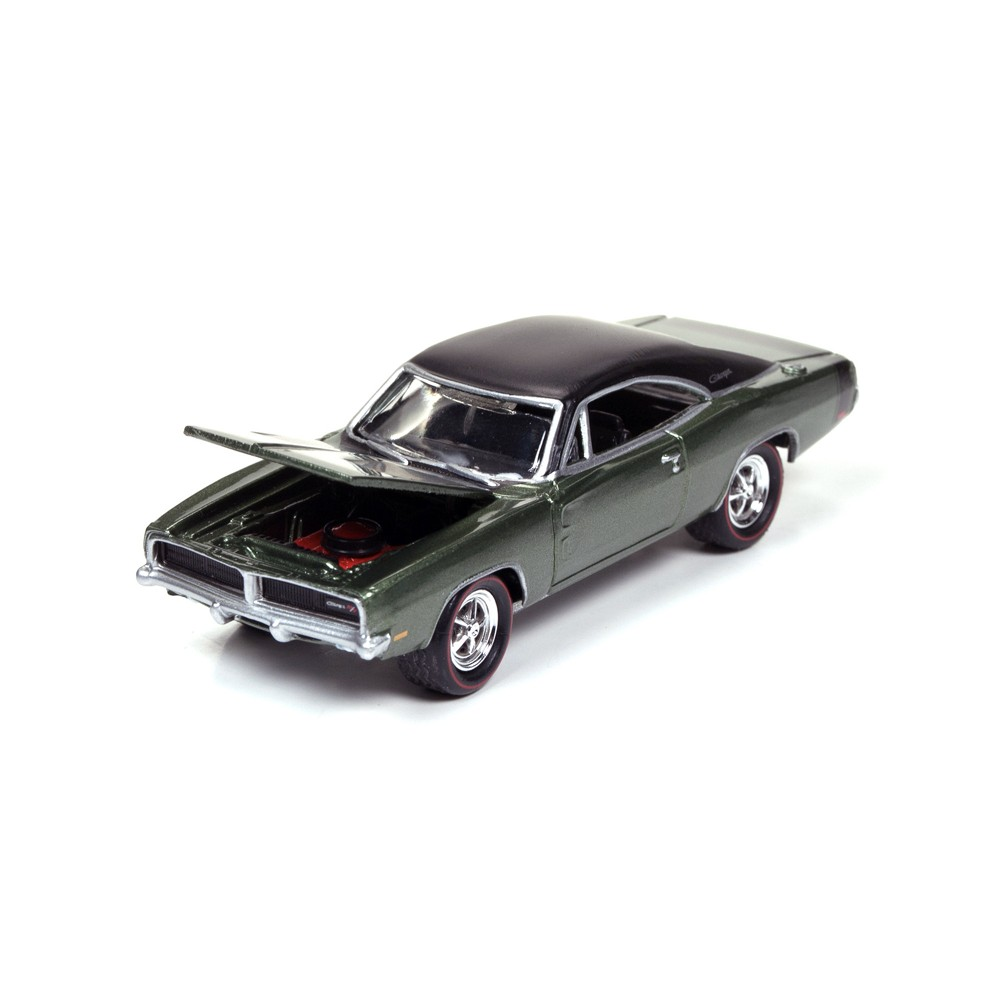 Johnny Lightning Muscle Cars USA Release 3D - 1969 Dodge Charger R/T