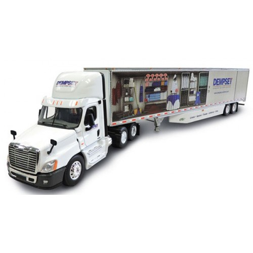 DCP Freightliner Cascadia Day Cab with Dry Goods Trailer - Dempsey Uniform